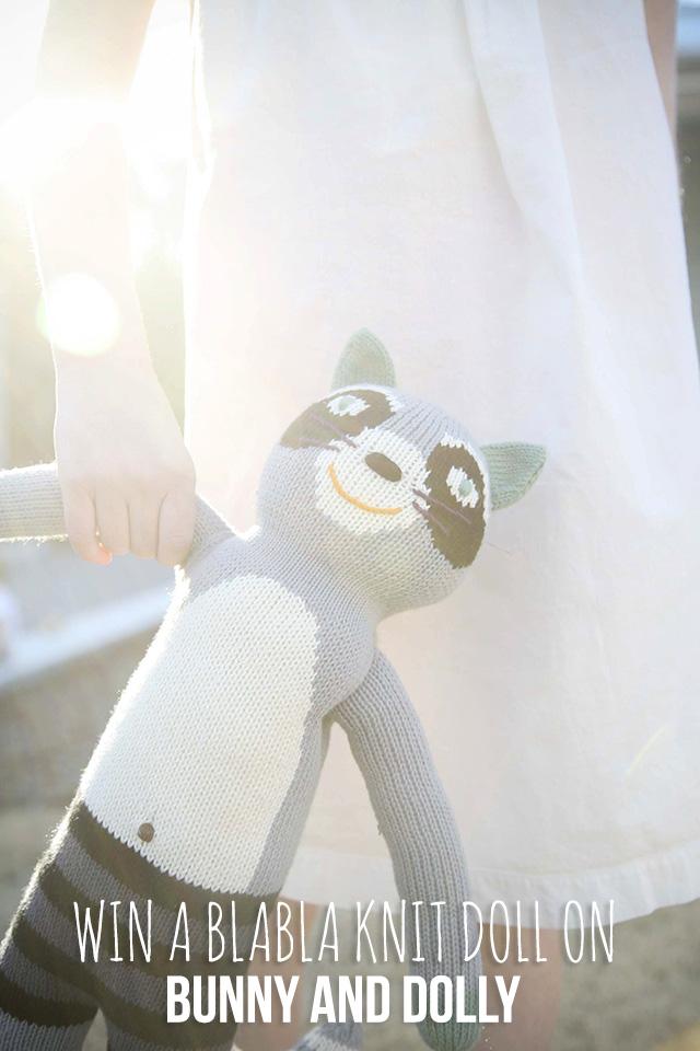 win a blabla knit doll on www.bunnyanddolly.com