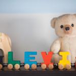 Home Tour: Levi's Blue & White Striped Nursery