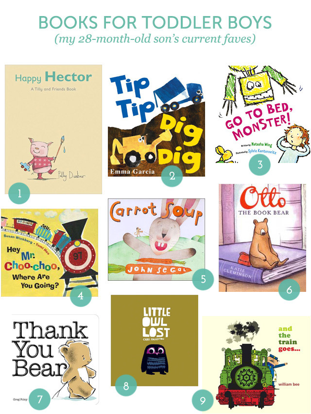 Gift Guide: Books for Toddlers on A Girl Named PJ