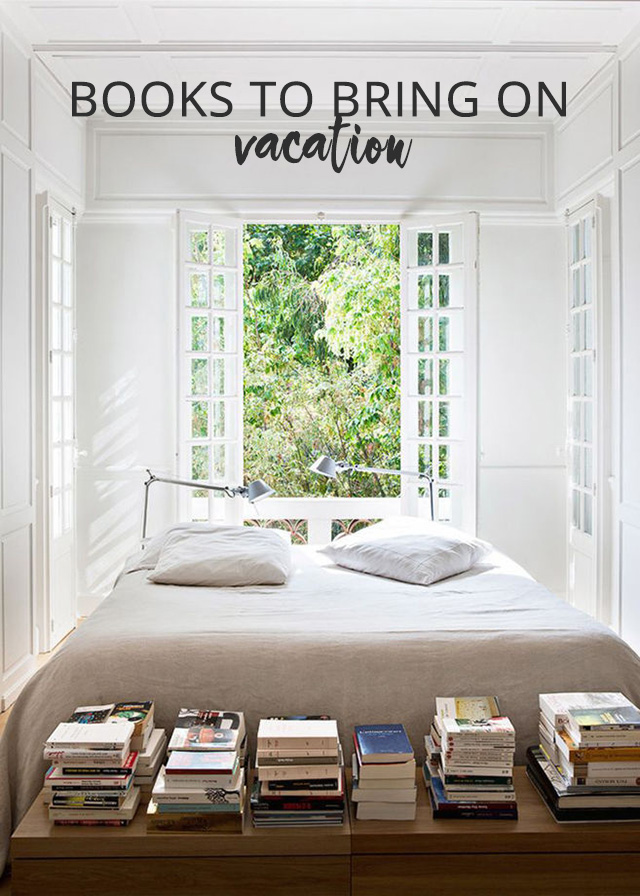 Books to bring on vacation: My vacation reading list on A Girl Named PJ
