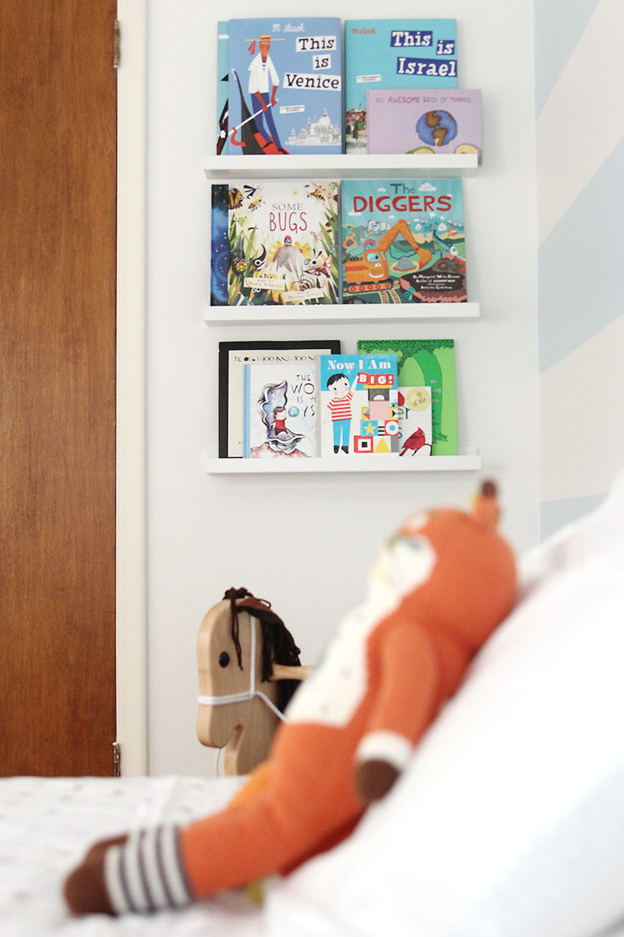 Levi's big boy toddler room. Click through for room tour. | A Girl Named PJ