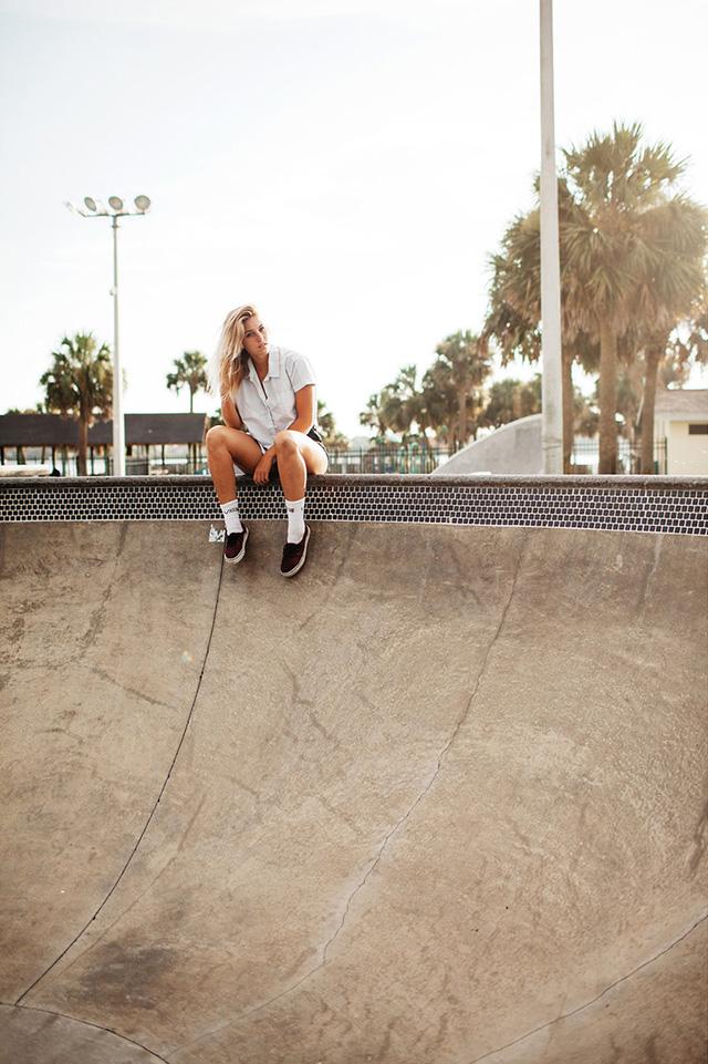 Building momentum - skateboarding