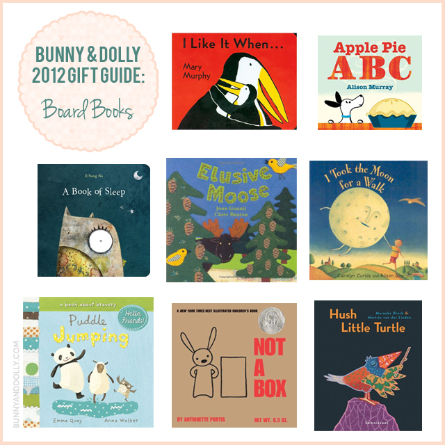 bunny and dolly holiday gift guide board books