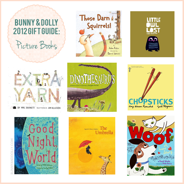 bunny and dolly holiday gift guide picture books