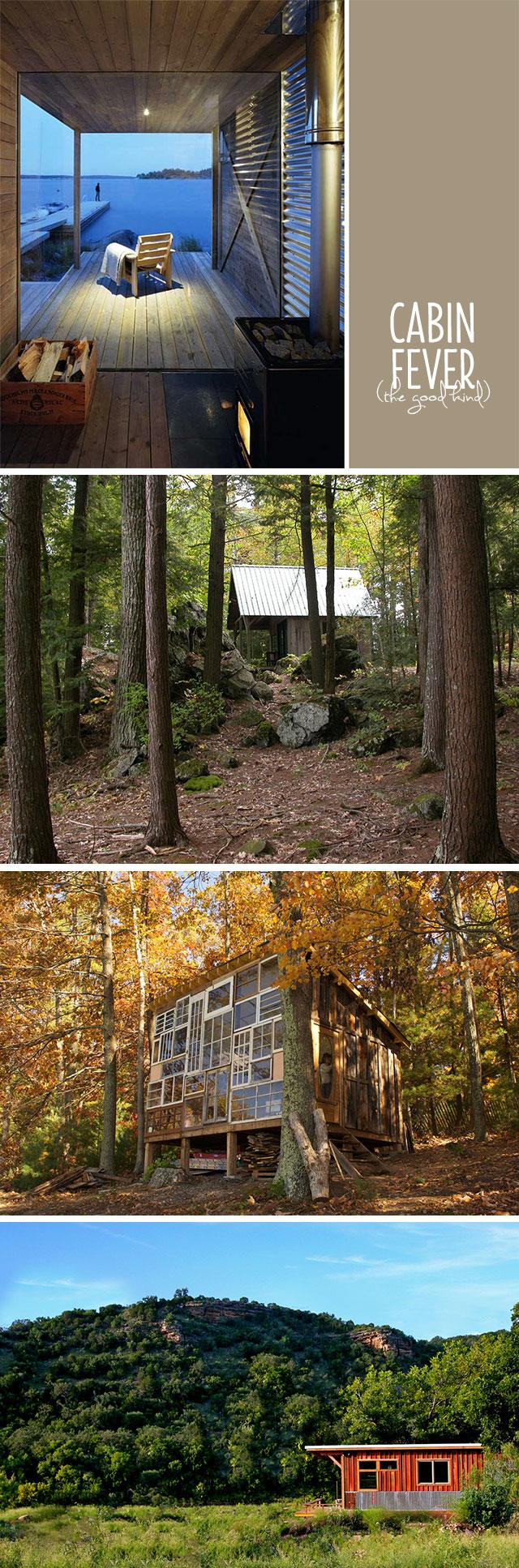 cabin getaways - bunnyanddolly.com