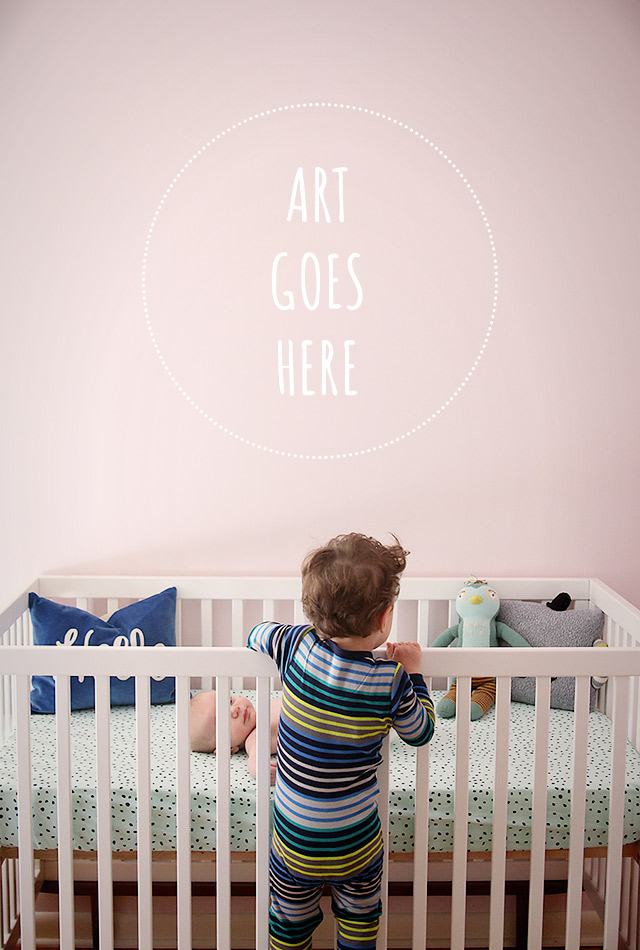 choosing art for baby's nursery