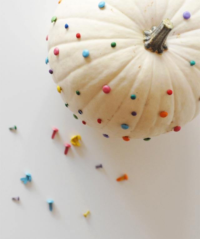 confetti brad pumpkin
