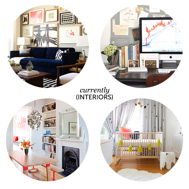 Currently: Interior Design obsessions on www.bunnyanddolly.com