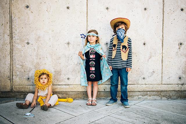 domestic reflection's three adorable children