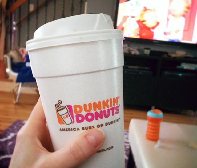 dunkin' donuts coffee | www.bunnyanddolly.com