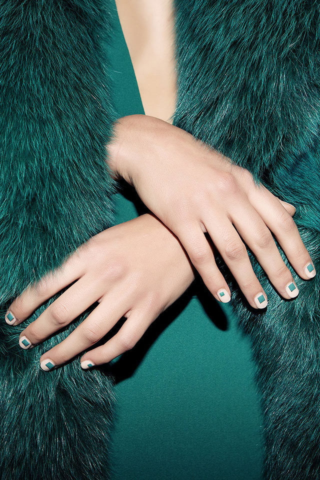 Cushnie et Ochs fall nail art ideas