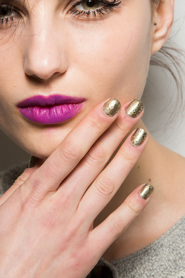 Nanette Lepore nail art ideas for fall