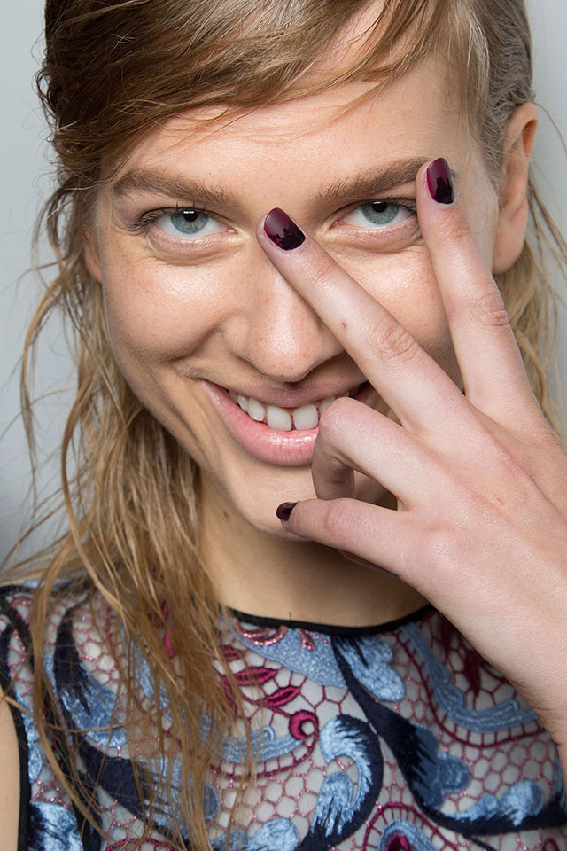 Wes Gordon nail art ideas for fall