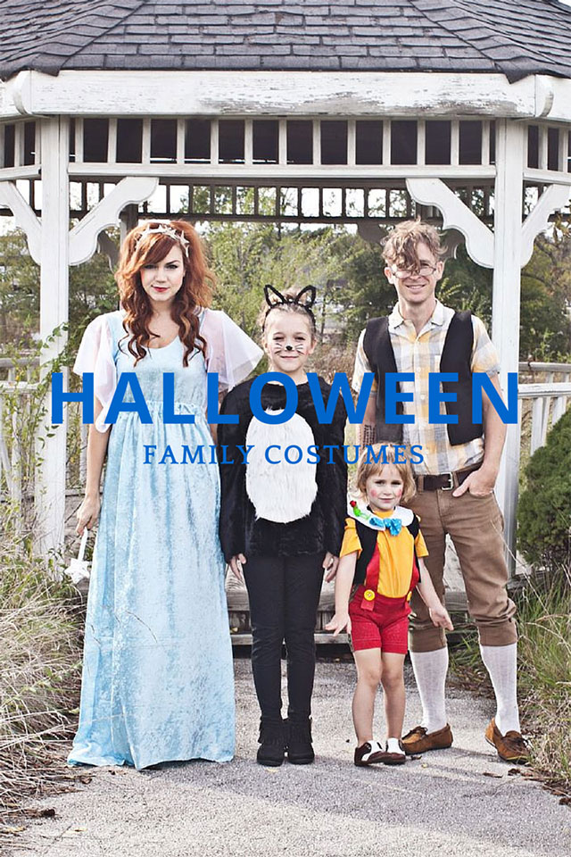family halloween costume  sc 1 st  A Girl Named PJ & Family Halloween Costume Ideas - A Girl Named PJ
