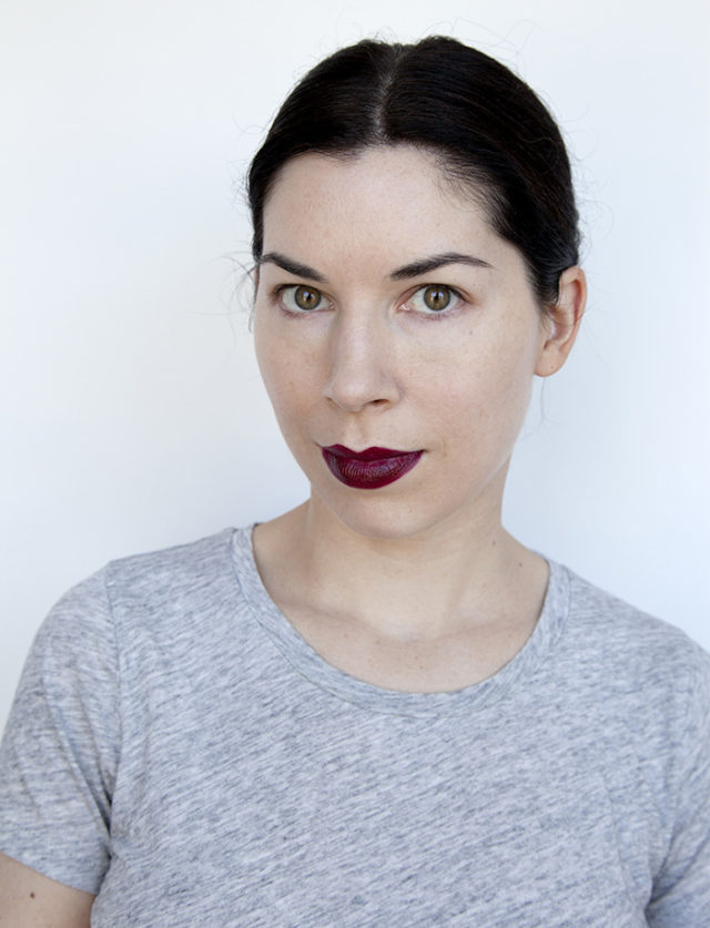 Beauty writers pick their favorite lipsticks. This is Urban Decay Vice Lipstick in Shame.