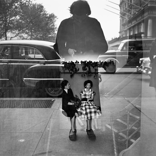 Vivian Maier self-portrait from the documentary, Finding Vivan Maier
