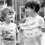 The strange thing that happened on my kids' first day of kindergarten and nursery school
