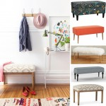 Five Faves: Upholstered Benches