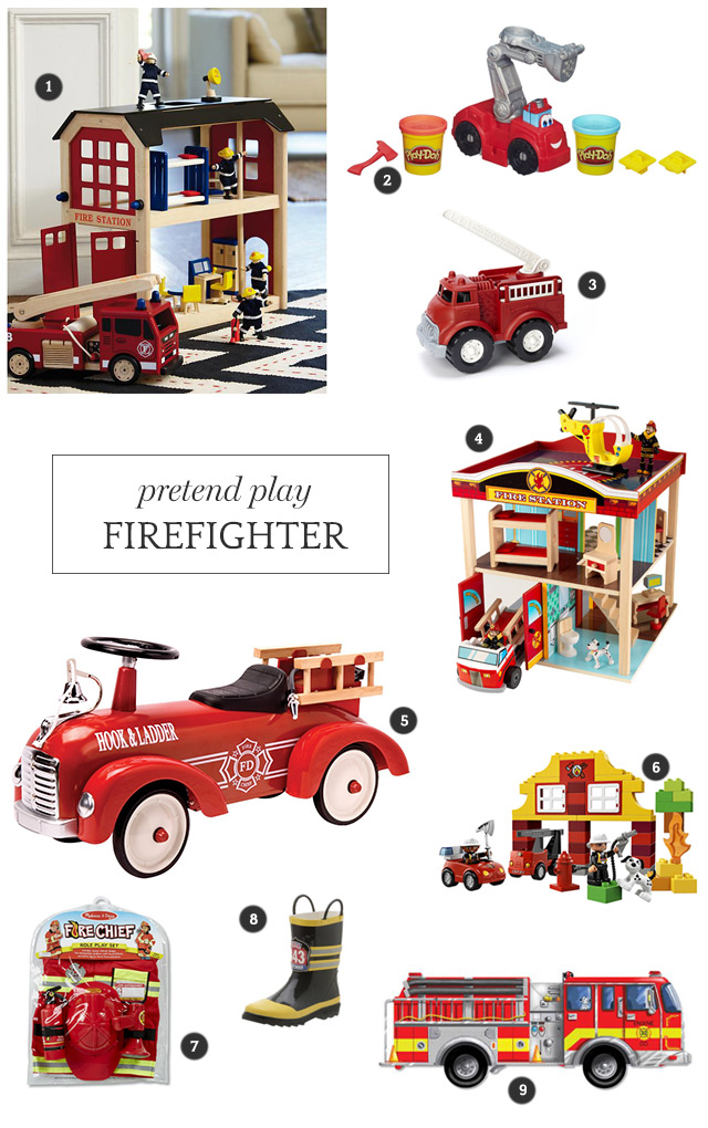 Firefighter Pretend Play Gift Guide | A Girl Named PJ
