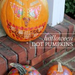 "Halloween DIY: Dot Pumpkins Inspired by ""Creative Galaxy"""