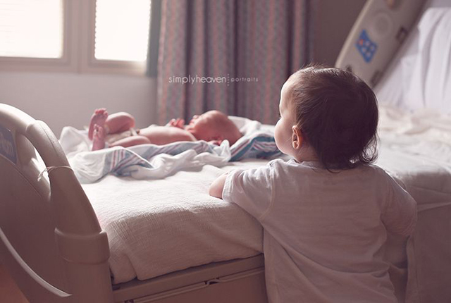 hospital newborn photo