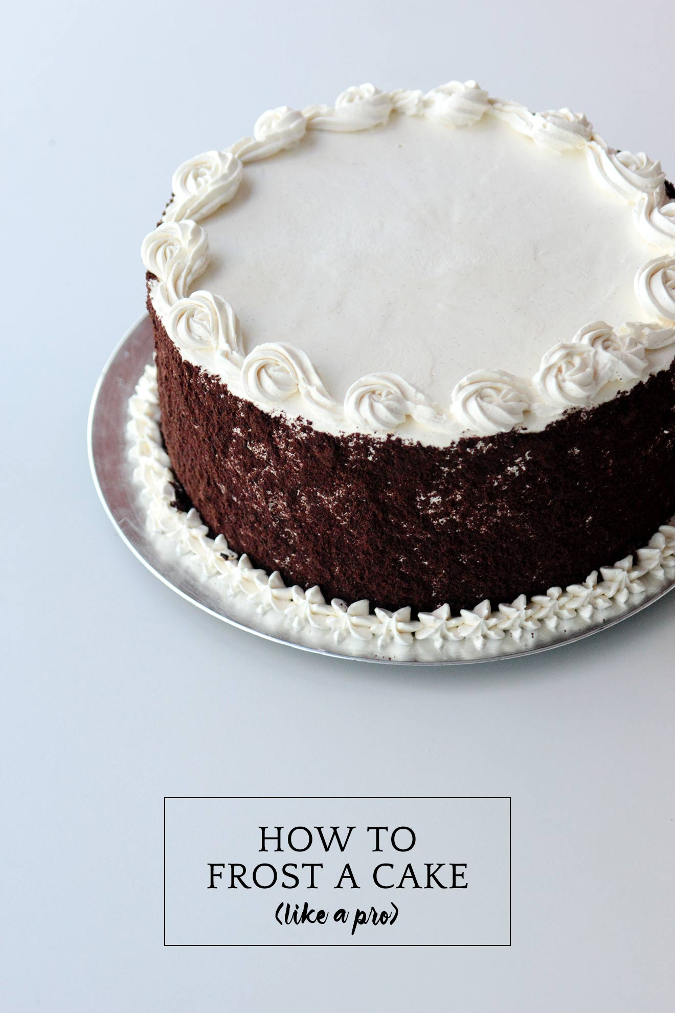 How to Frost a Cake Like a Pro on A Girl Named PJ