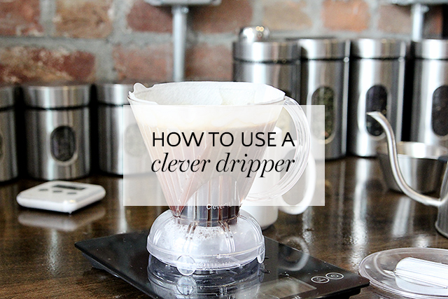 how to use a clever coffee dripper