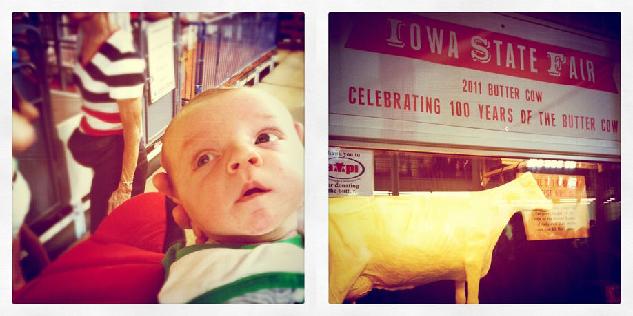 Levi Goes To The Iowa State Fair 2011