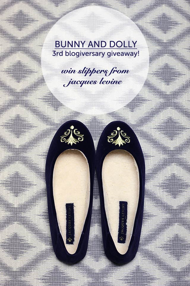 jacques levine slippers giveaway