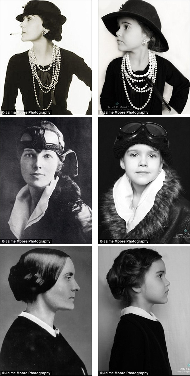 Historical women - Halloween costume ideas for girls from photographer Jaime Moore on www.bunnyanddolly.com