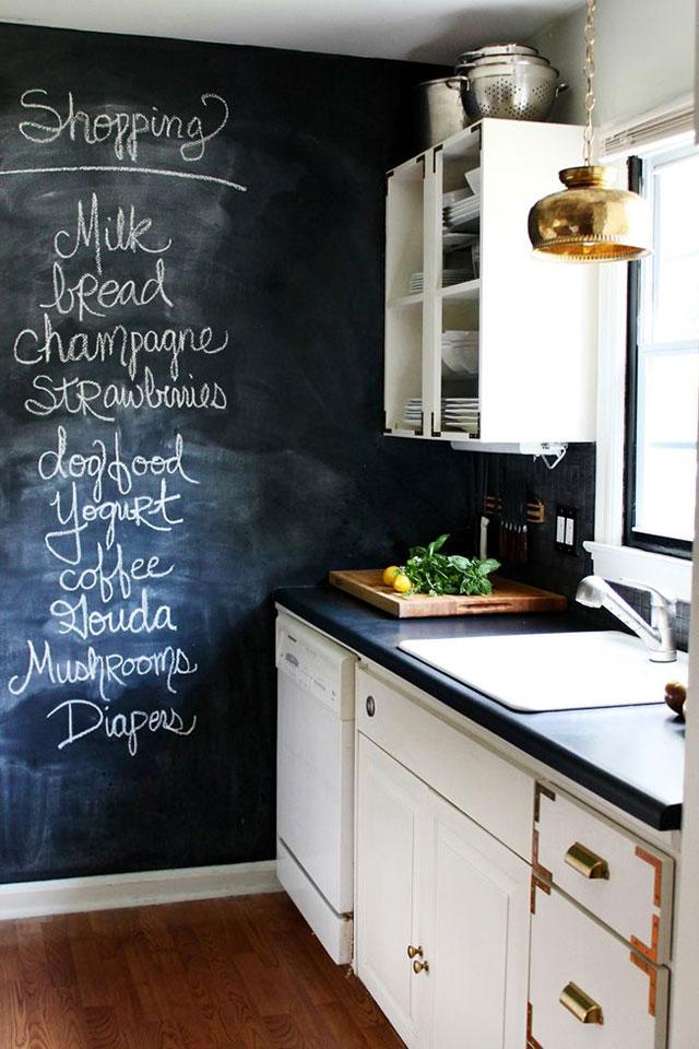 Chalkboard Paint Kitchen Ideas Chalkboard Wall Ideas