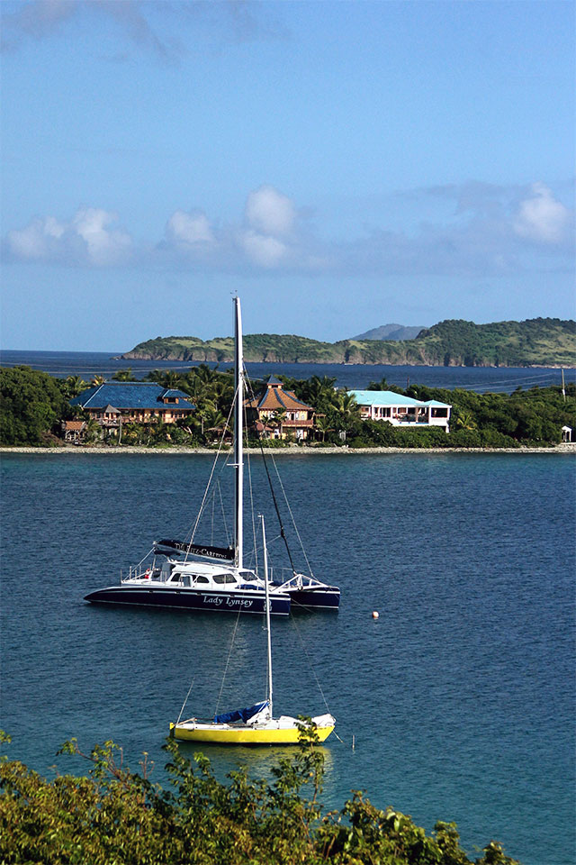 Lady Lynsey in St. Thomas