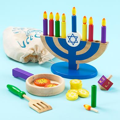 The Land of Nod_Hanukah Wooden Play Set