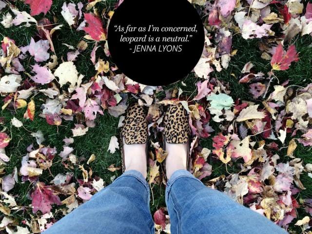 Leopard is a neutral Jenna Lyons | A Girl Named PJ