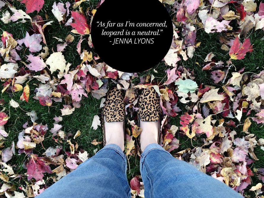 Leopard is a neutral Jenna Lyons | A Girl Named PJ