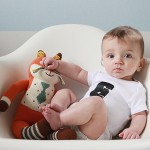 levi's monthly baby photo (six months old)
