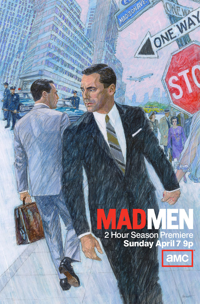 Mad Men Season 6 Official Poster bunnyanddolly.com