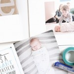 Asa's birth announcements (and a giveaway! – now closed)