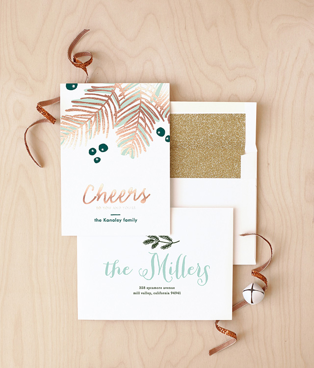 Minted Holiday Cards for New Year | A Girl Named PJ
