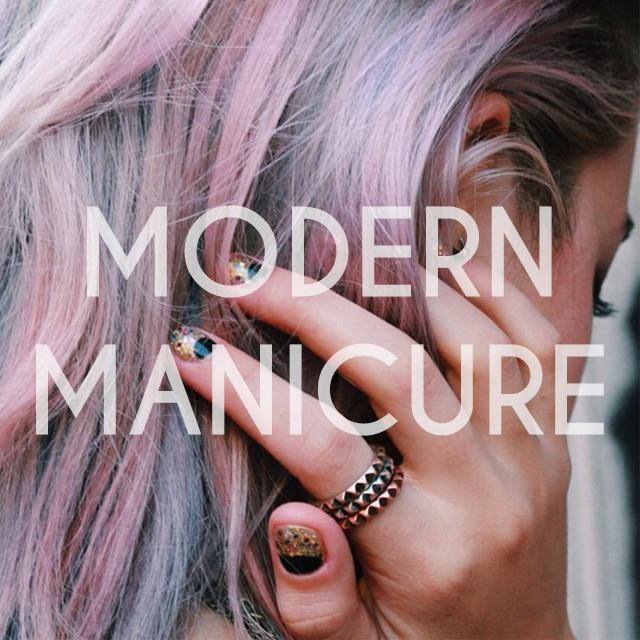 modern manicure