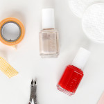 Nail Tutorial: DIY color block manicure