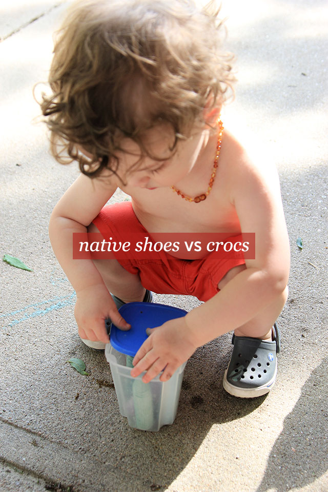 native shoes vs crocs