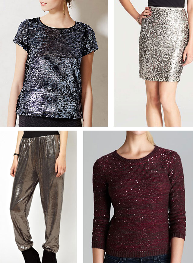 new year's eve sequin clothing
