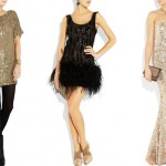 Sparkly sequin dresses for New Year's Eve