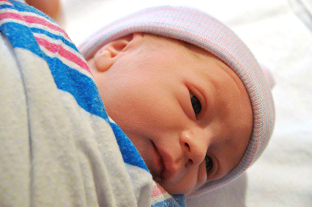 Newborn baby - Cousin Max - bunnyanddolly.com