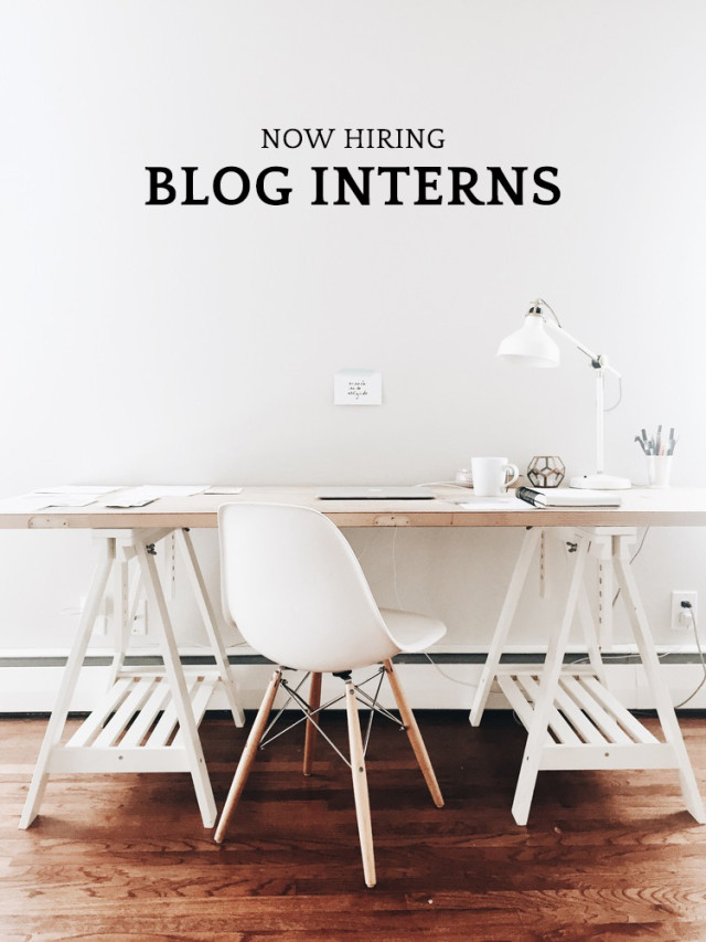A Girl Named PJ is now hiring blog interns!