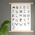 ABC wall art for all ages