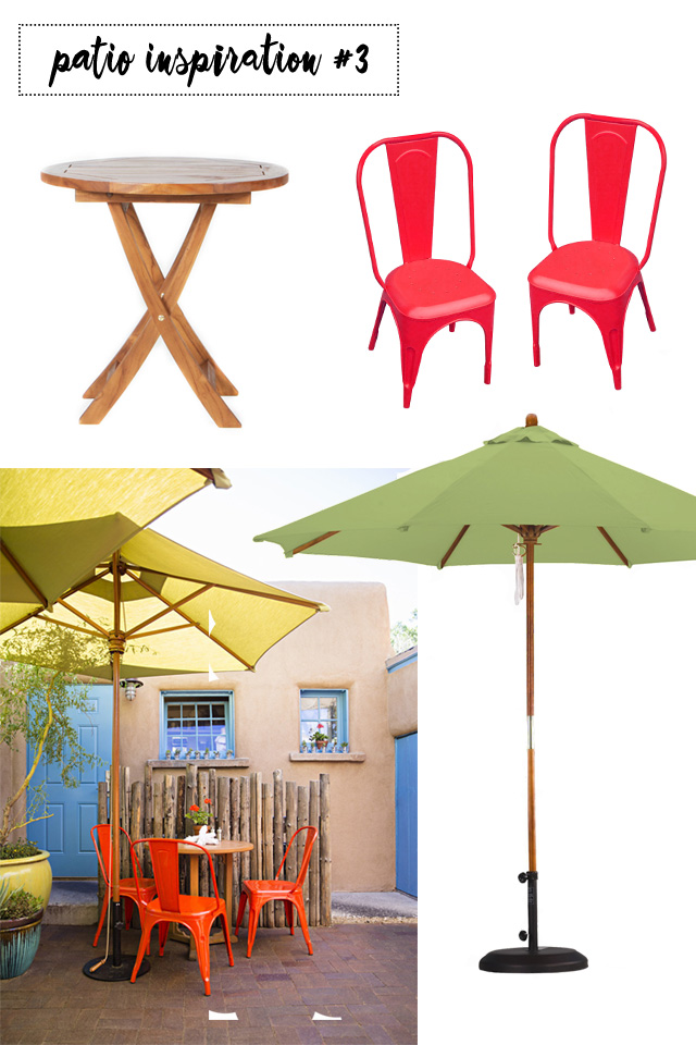 Patio Inspiration - Wayfair Patio Dreams | A Girl Named PJ