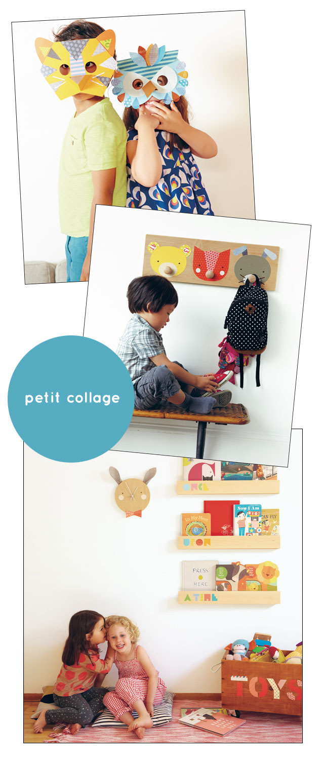 petit collage book