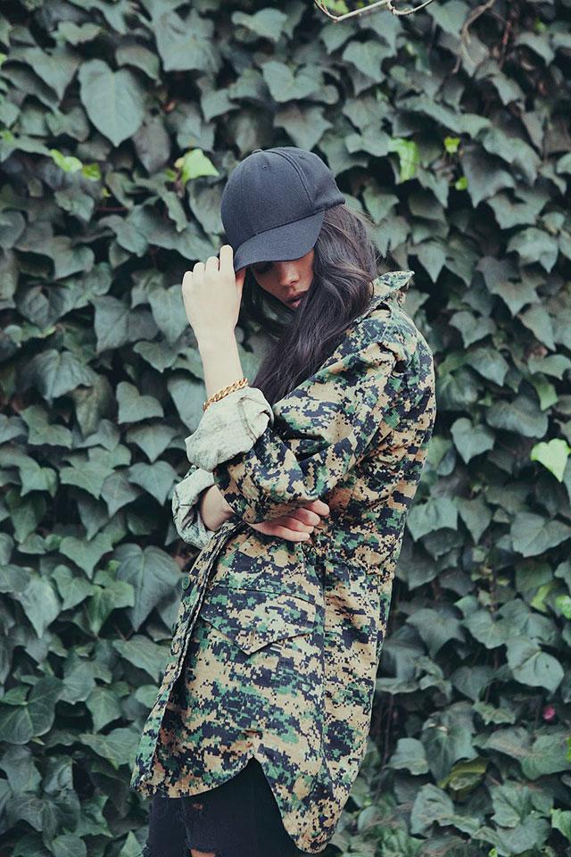 military camo milspouse